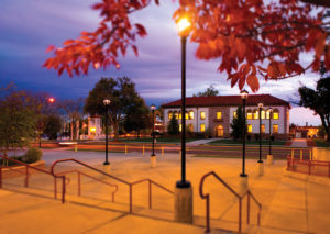 Photograph: Historic Rodgers Hall by Sean Weaver/Highlands University
